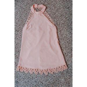 Lulu's light pink dress